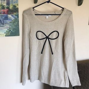LC Lauren Conrad women's sz M sweater euc